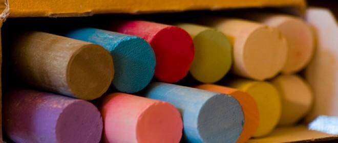 Píldoras para profesores y el aula y Un poema de tiza
