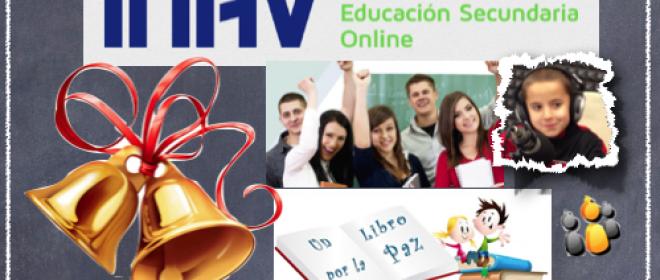 ESO online, Un libro por la Paz y recursos navideños para el aula